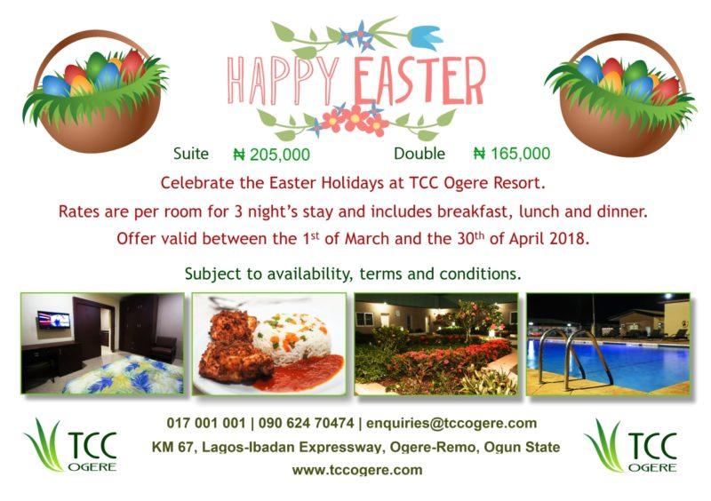TCC Ogere Easter Flyer - 2018